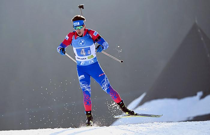 Мужская сборная России завоевала бронзу в эстафете на ЧМ по биатлону