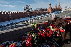 В Москве прошла акция памяти Бориса Немцова