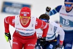 Большунов выиграл золото ЧМ в скиатлоне