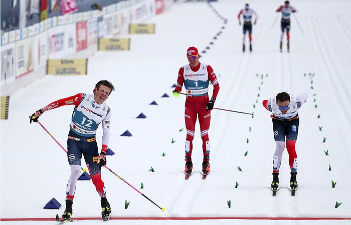Норвежца Клебо лишили золота в масс-старте на лыжном ЧМ