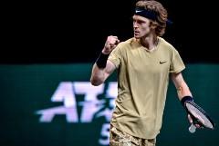 Российский теннисист Рублев вышел в финал турнира ATP в Роттердаме