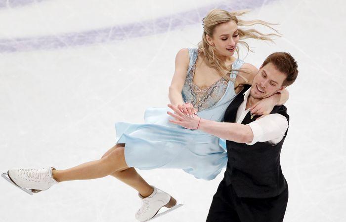 Россияне Синицина и Кацалапов выиграли золото ЧМ по фигурному катанию