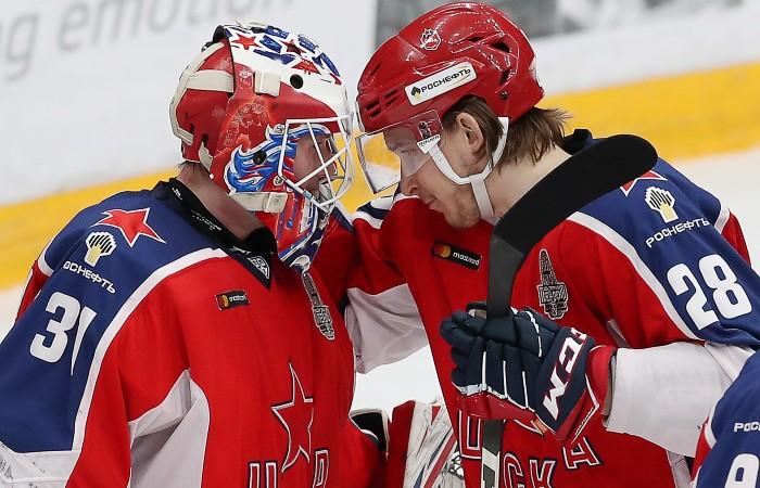 ЦСКА обыграл СКА в матче полуфинальной серии плей-офф КХЛ