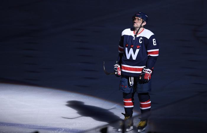 Овечкин до одного гола сократил отставание от топ-5 бомбардиров в истории НХЛ