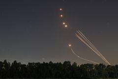 Армия Израиля за неделю насчитала 3,1 тыс. ракет, запущенных из Газы
