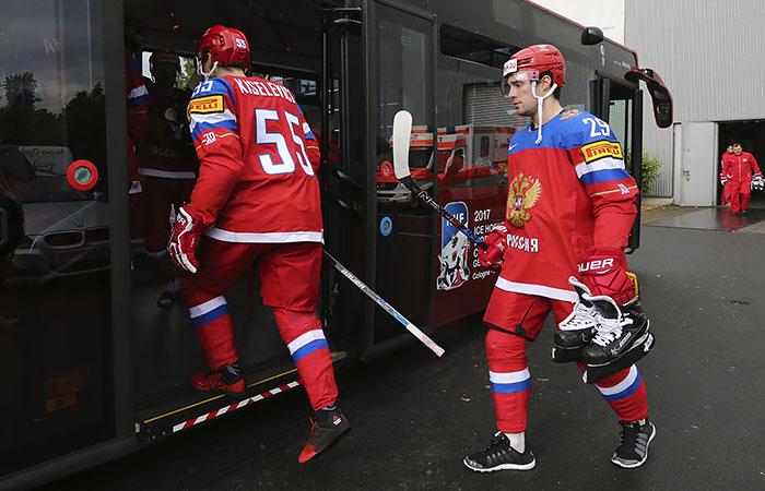 Семь игроков НХЛ вошли в состав сборной России на ЧМ