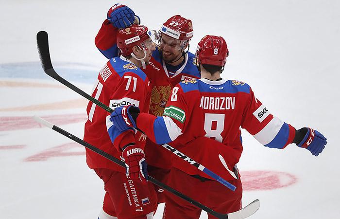 Назван предварительный состав сборной России по хоккею на ЧМ-2021