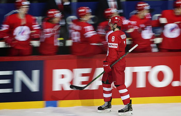 Сборная России победила Данию