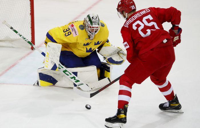 Сборная России по буллитам победила Швецию