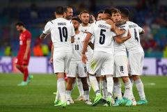 Сборная Италии крупно победила Турцию в матче открытия Евро-2020