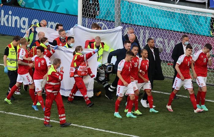 Состояние потерявшего сознание футболиста сборной Дании стабилизировалось