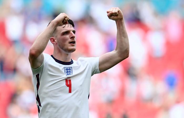 Сборная Англии победила Хорватию в матче Евро-2020