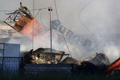 Собственники занизили класс опасности взорвавшейся в Новосибирске АГЗС