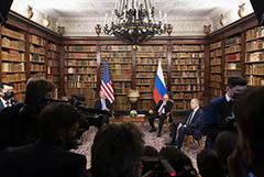 Песков назвал результативными переговоры Путина и Байдена
