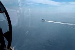 ФСБ выложила видео с предупредительной стрельбой по эсминцу Defender