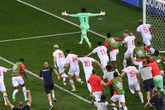 Сборная Швейцарии по пенальти победила Францию и вышла в четвертьфинал