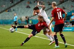 Сборная Дании победила Чехию и вышла в полуфинал