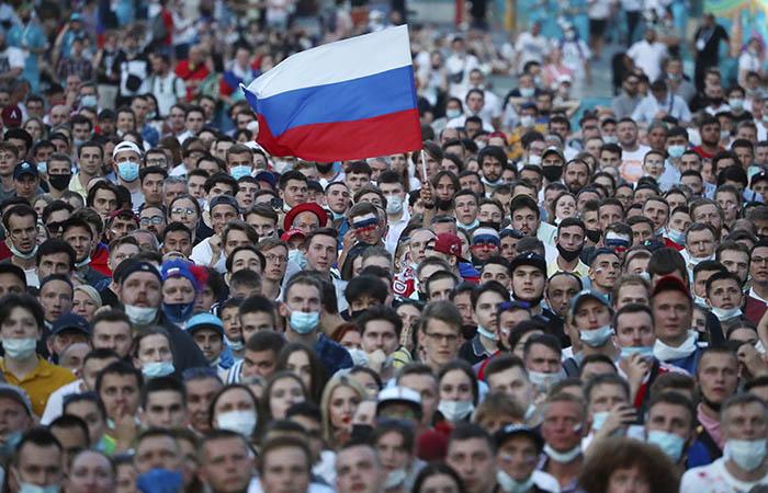 Матчи Евро-2020 в Петербурге посетили 135 тысяч человек