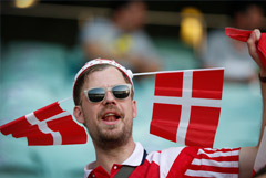 Англия - Дания. Онлайн