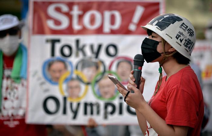 В Токио проходят протесты с требованием отменить Олимпиаду из-за COVID