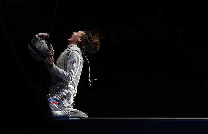 Российская рапиристка Коробейникова завоевала бронзу Олимпиады