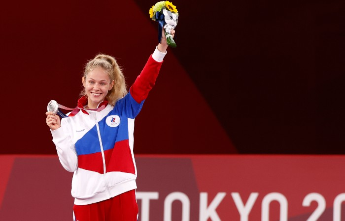 Российская тхэквондистка Минина завоевала серебро Олимпиады