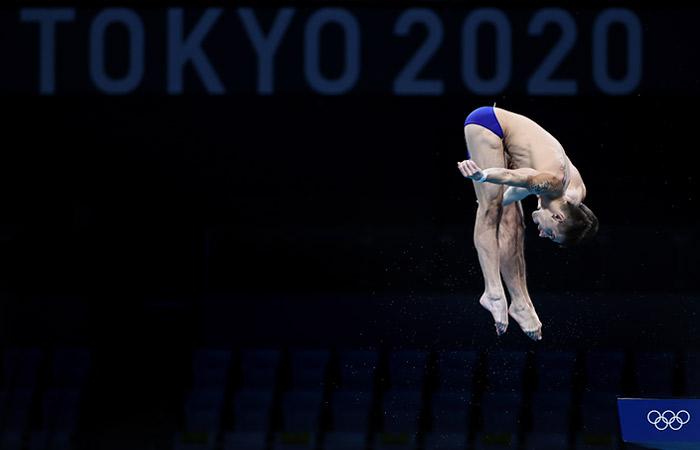 Россияне Бондарь и Минибаев завоевали бронзу в синхронных прыжках в воду