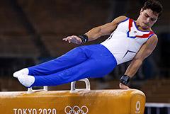 Российские гимнасты выиграли золотую медаль в командном многоборье