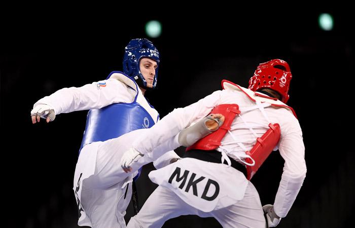 Российский тхэквондист Ларин выиграл золото Олимпиады