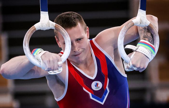 Российский гимнаст Аблязин завоевал серебро в опорном прыжке