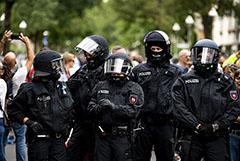 Мужчина скончался в Берлине после воскресной акции протеста
