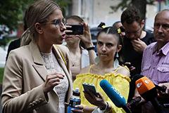 """Соболь получила 1,5 года ограничения свободы по """"санитарному делу"""""""