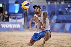 Россияне впервые в истории ОИ вышли в финал турнира по пляжному волейболу