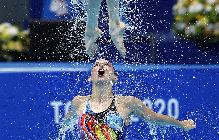 Российские синхронистки завоевали золото ОИ в соревновании групп