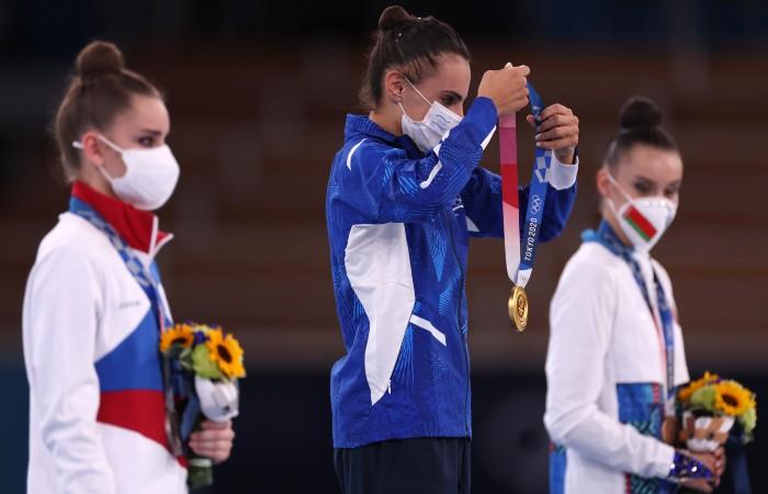 Россия впервые за 25 лет осталась без золота в художественной гимнастике