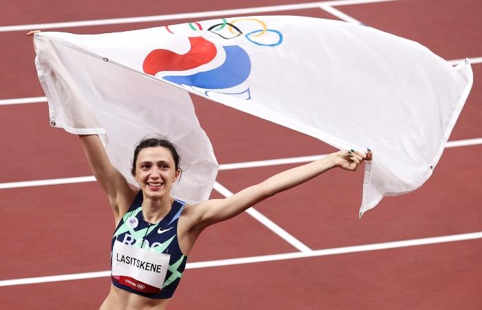 Россиянка Ласицкене стала чемпионкой Олимпиады в прыжках в высоту