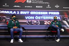 Феттель и Стролл останутся пилотами Aston Martin на следующий сезон