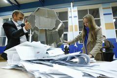 """""""Единая Россия"""" после обработки четверти протоколов набрала 44,26% голосов"""