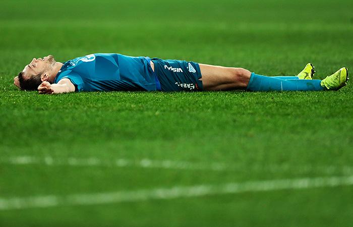 Дзюба отказался играть за сборную России в октябрьских матчах