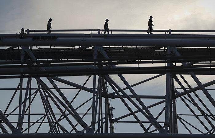 Осужденные поработают на строительстве ледового дворца в Новосибирске