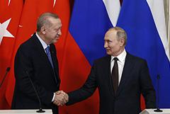 Путин и Эрдоган встретятся лично