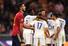 Сборная Франции по футболу победила Испанию в финале Лиги наций УЕФА