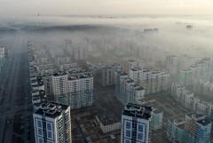 В Екатеринбурге потушили часть очагов торфяного пожара