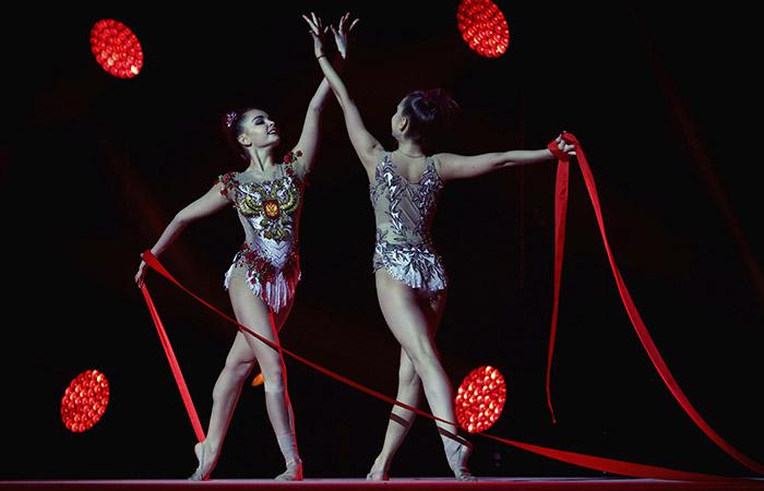 Сестры Аверины вошли в состав сборной России по художественной гимнастике на ЧМ