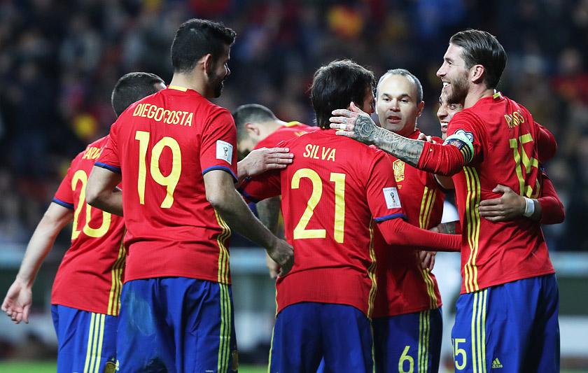 Белгия испания футбол отборочный матч чм2010